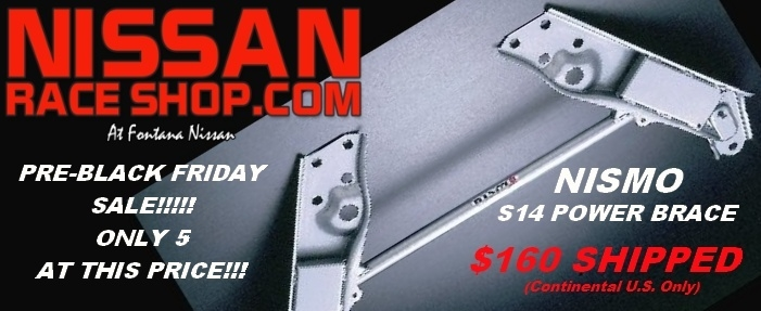 Nismo S14 Power Brace Sale -- Only 5 available!!! - Zilvia