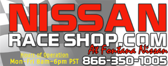Nissan Race Shop |  OEM and Aftermarket Nissan Parts