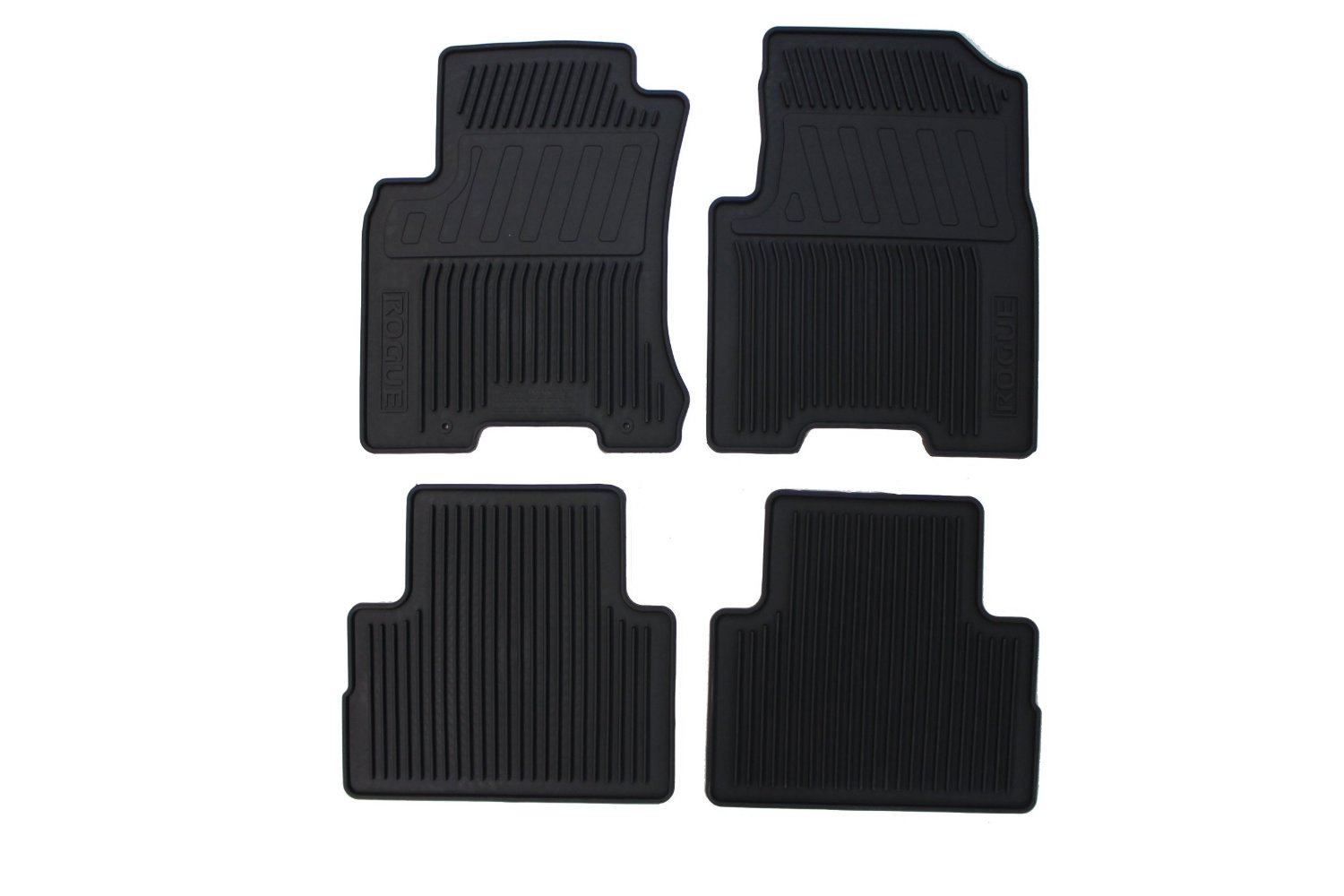 genuine nissan all season floor mats 2008 2012 rogue. Black Bedroom Furniture Sets. Home Design Ideas
