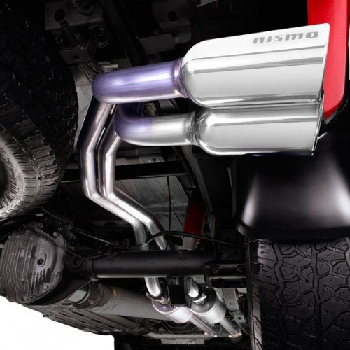 Nismo Dual Sport Cat Back Exhaust System Nissan Titan