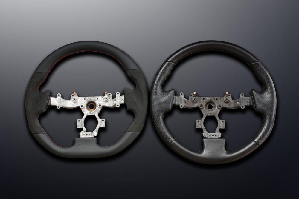 Mine S Original R35 Gtr Leather Steering Wheel Nissan