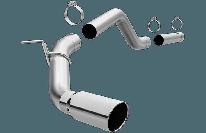 Magnaflow SS Cat-Back Exhaust – 2016+ Titan XD 5.0L Cummins
