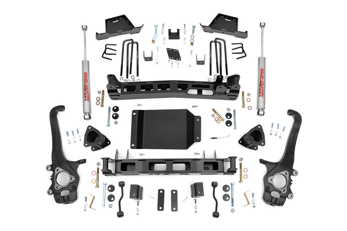 Rough Country 6in Suspension Lift Kit – 04-15 Titan