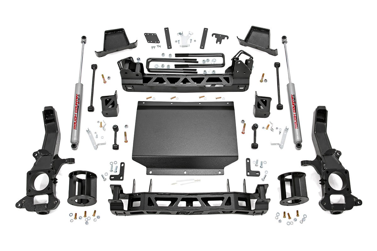 Rough Country 6in Suspension Lift Kit – 2016+ Titan XD 4WD
