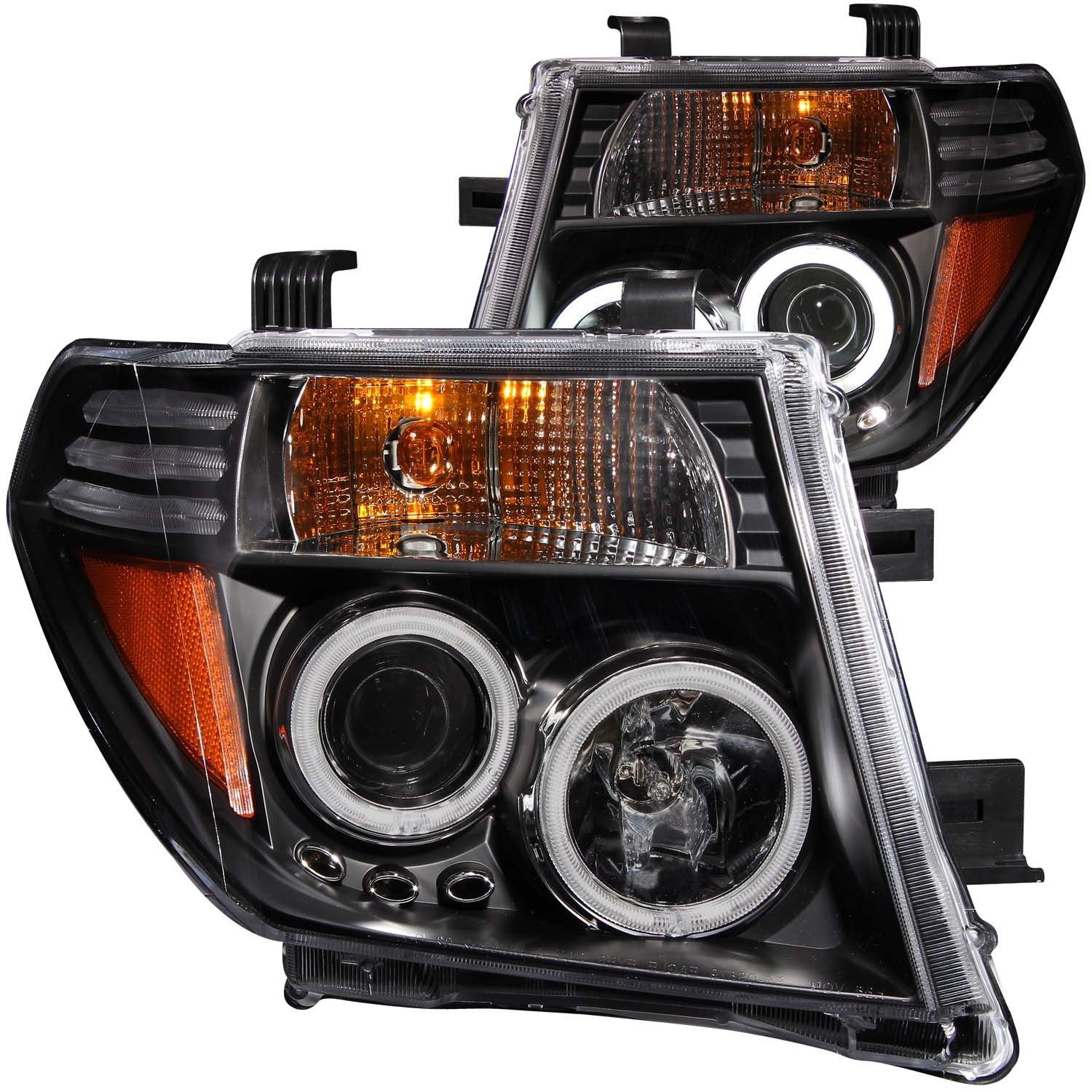 2014 Nissan Quest For Sale >> NISSAN FRONTIER 05-08 / PATHFINDER 05-07 PROJECTOR HEADLIGHTS BLACK CLEAR - Nissan Race Shop