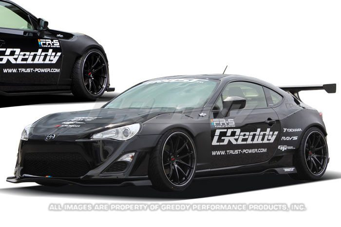 2013 scion fr s greddy x rocket bunny 86 wide body aero. Black Bedroom Furniture Sets. Home Design Ideas