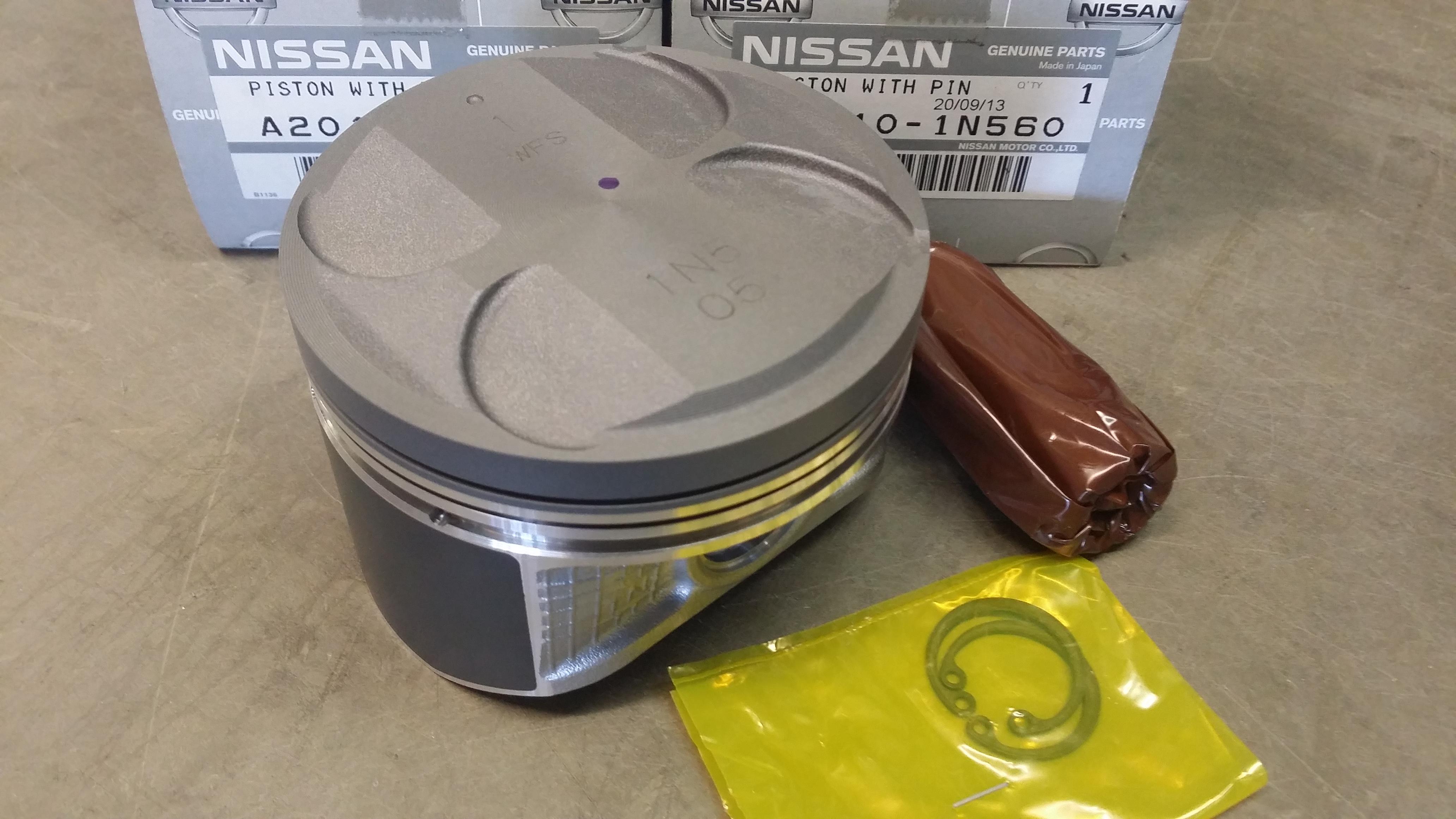 Nismo High Compression Piston 86mm Sr20de T A2010 1n560