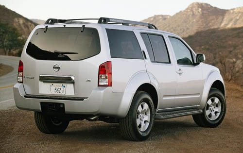 Genuine OEM Nissan Pathfinder Tail Light 05