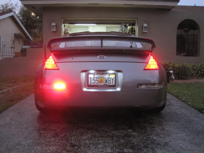 Jdm Rear Fog Light For 350z Nissan Race Shop