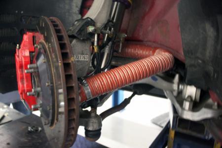 Stillen Brake Cooling Kit For 370z Nissan Race Shop