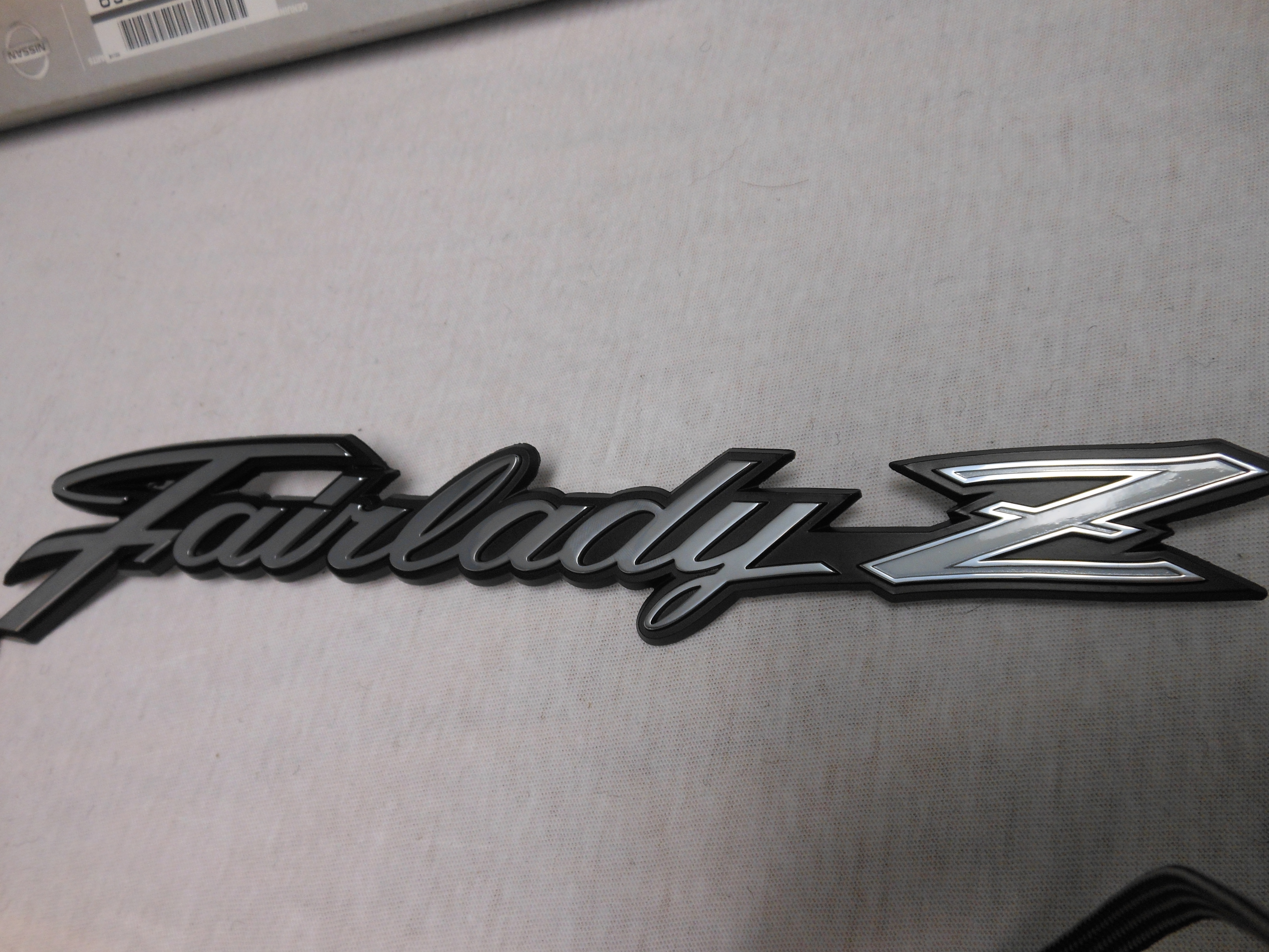 2014 Nissan Quest For Sale >> JDM Datsun Fairlady Z Emblem (metal) - Nissan Race Shop