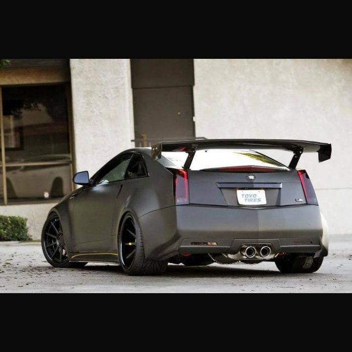 GTC500 Cadillac CTS-V Coupe Spec Rear Wing (2011-UP