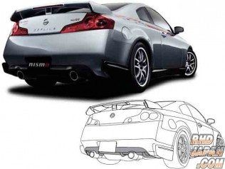 Nismo Rear Diffuser G35 Coupe / 350GT 2dr