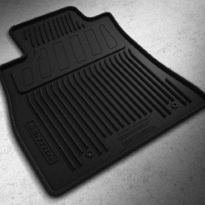 Genuine Nissan Second Row All Season Floor Mats 2010
