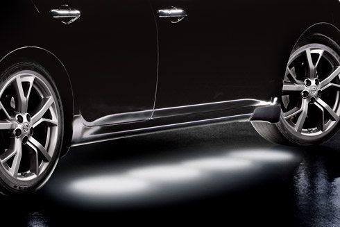 Genuine Nissan Altima Coupe External Ground Lighting 2010 2014