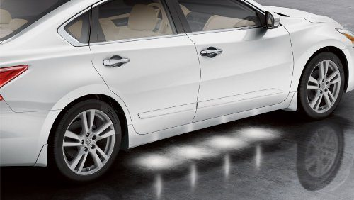 Genuine Nissan Altima Sedan External Ground Lighting 2013