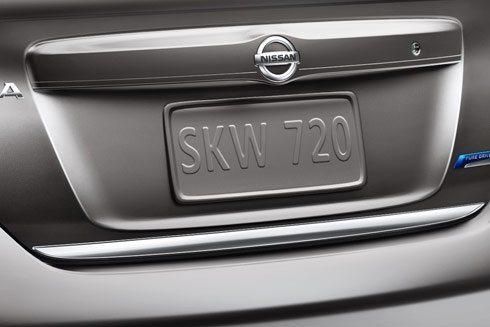 Genuine Nissan Chrome Trunk Accent 2012 2013 Versa Sedan