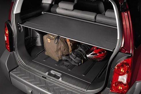 Genuine Nissan Retractable Cargo Cover - Gray 2010-2012 ...