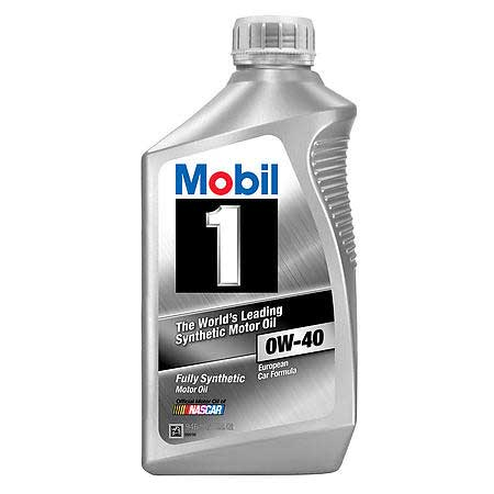 Mobil 1 0w 40 Fully Synthetic Motor Oil Nissan Race Shop