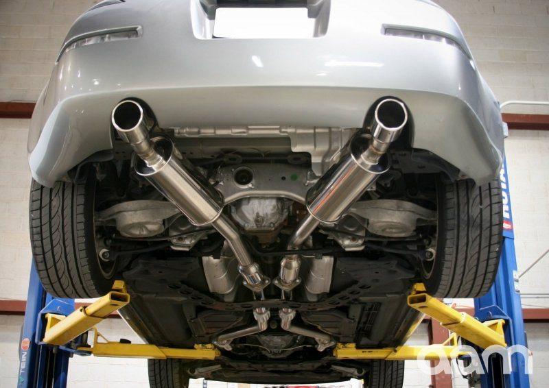 Aam Competition 350z 2 5 True Dual Exhaust Nissan Race Shop