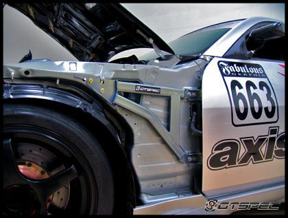 Gtspec Fender Reinforcement Brace For 350z 03 Nissan