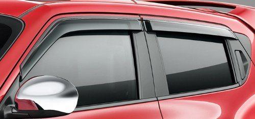 Genuine Nissan Side Window Deflector Set Juke Nissan