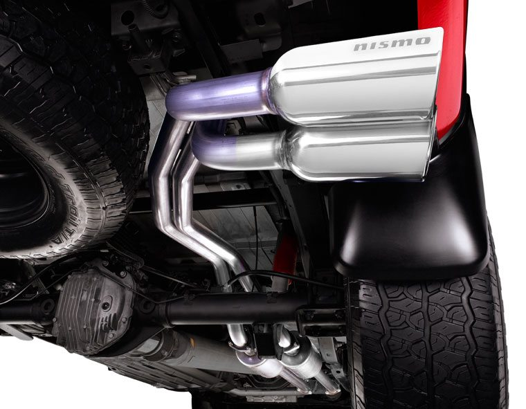 Nissan Titan Nismo Cat Back Exhaust System