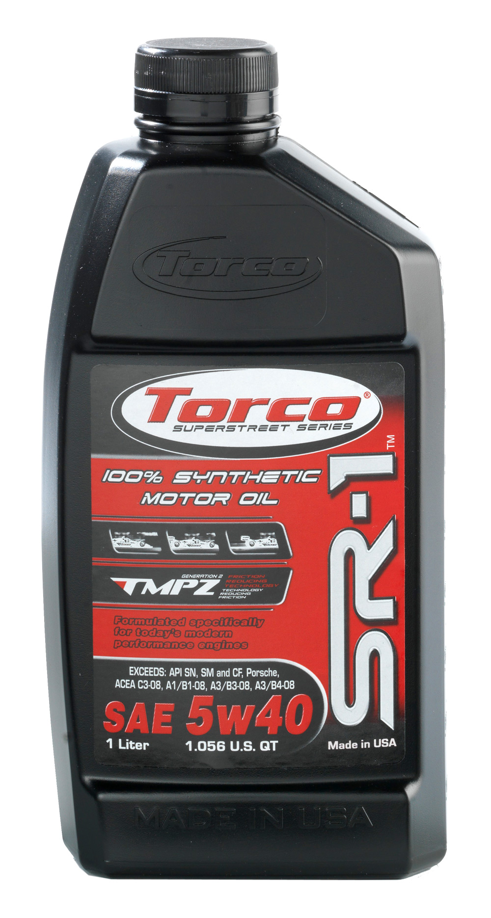 Torco sr 1r synthetic motor oil 100 synthetic nissan for What is synthetic motor oil made from