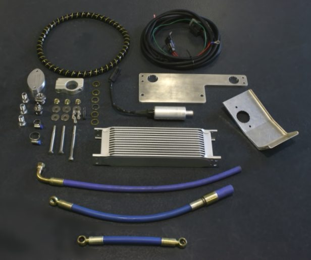 Differential Oil Cooler : Willall rear differential cooler r gtr nissan race shop