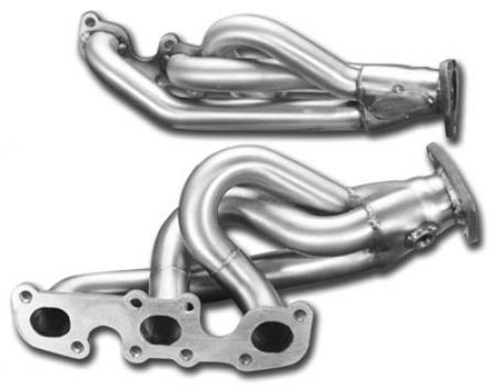 STILLEN 2003-2007 Infiniti G35 / 2003-2006 Nissan 350Z Mild Steel Headers -  Ceramic Coated
