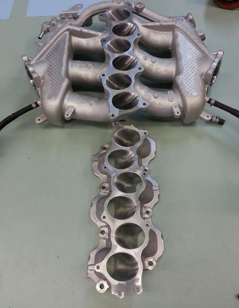 SBD Port and Polished GTR Intake Manifold