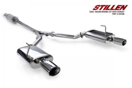 Stillen SS Cat-Back Exhaust - 09-14 Maxima