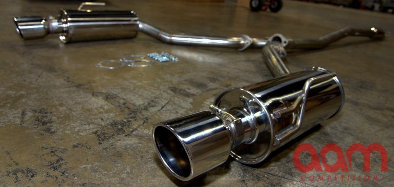 Aam Competition 2009 Maxima Cat Back Exhaust Nissan