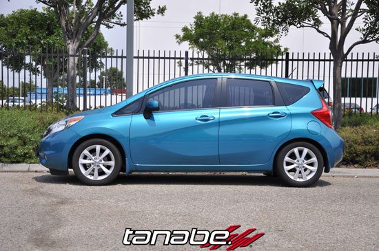 2014 Nissan Quest For Sale >> Tanabe NF210 Springs 2014 Nissan Versa Note - Nissan Race Shop