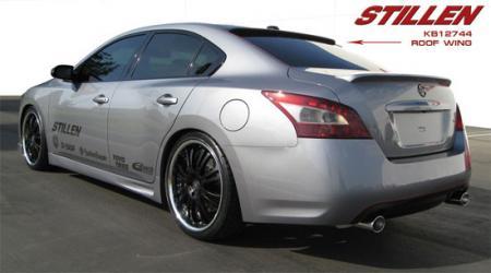 Stillen Roof Spoiler 09 14 Maxima Nissan Race Shop