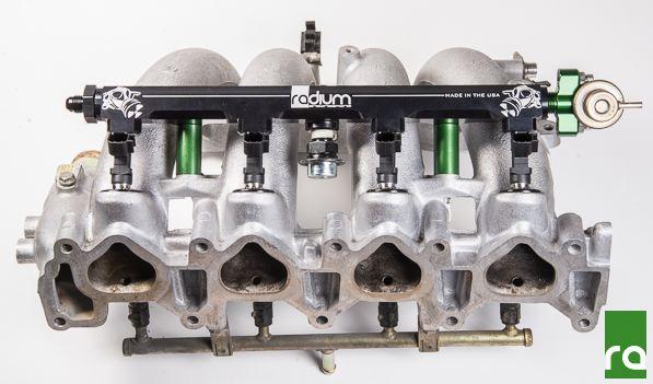 Radium Engineering Top Feed Fuel Rail - KA24DE (S13/S14)