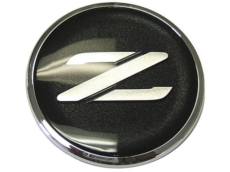 Nissan Rogue Dimensions >> Genuine JDM Nissan Z Emblem (Black/Silver) - Nissan Race Shop