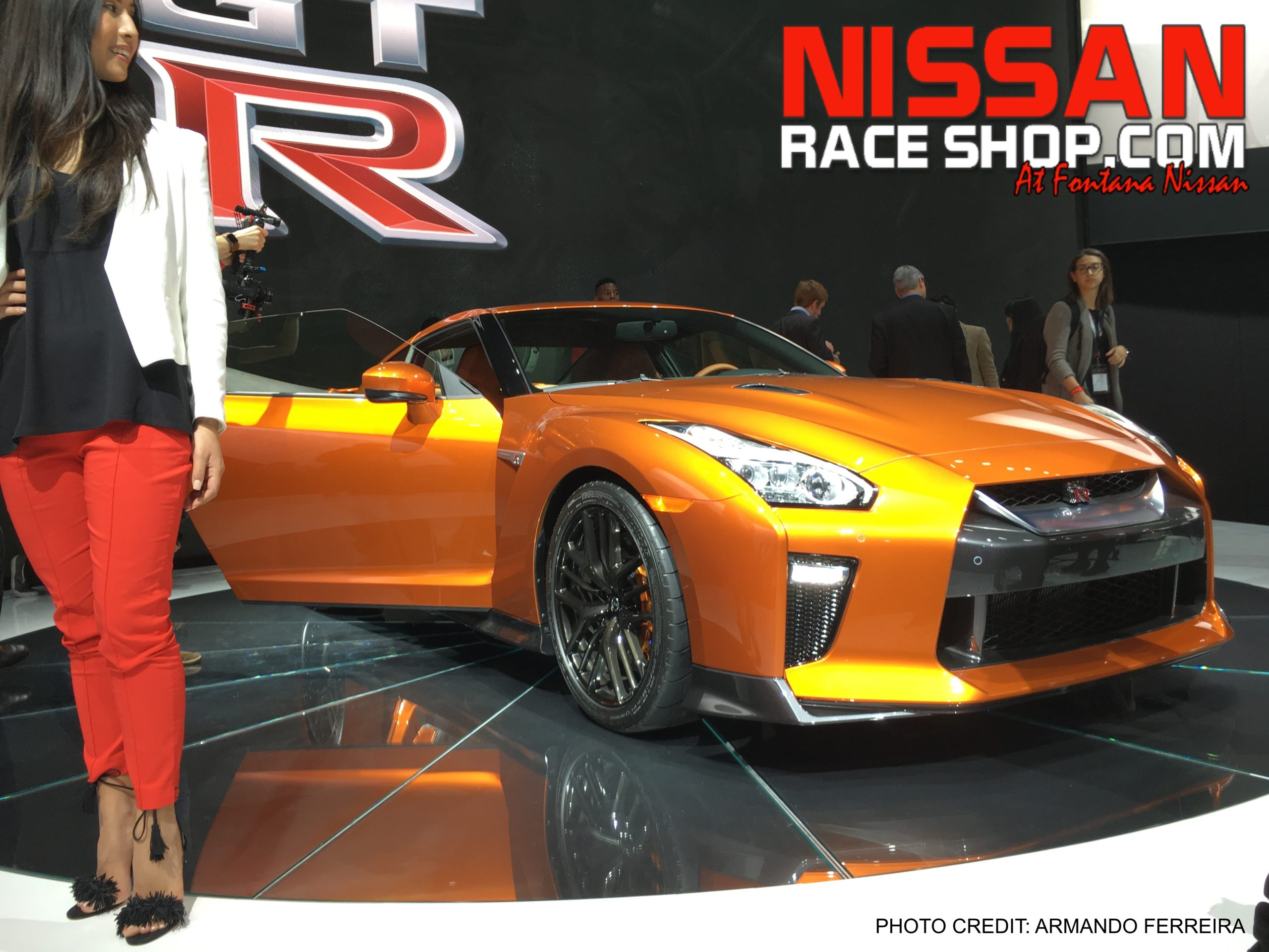 2017 Nissan GT-R at the New York Auto Show!