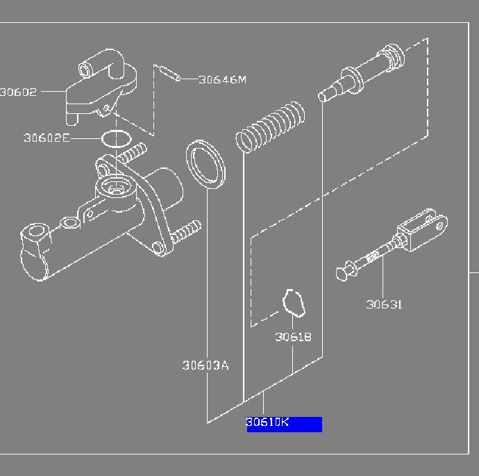 Oem Nissan Clutch Master Cylinder Piston Kit Vq35de. Oem Nissan Clutch Master Cylinder Piston Kit Vq35de. Nissan. Nissan Clutch Master Cylinder Diagram At Scoala.co