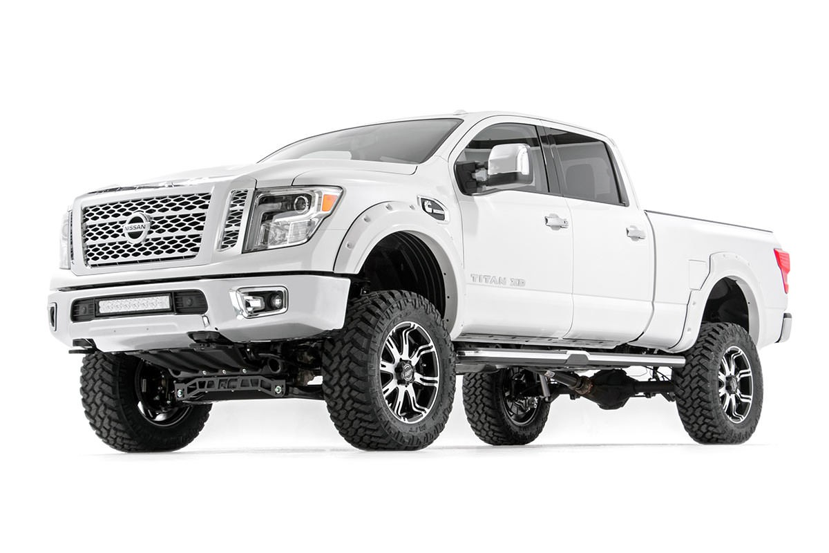 Rough Country 6in Suspension Lift Kit 2016 Titan Xd 4wd