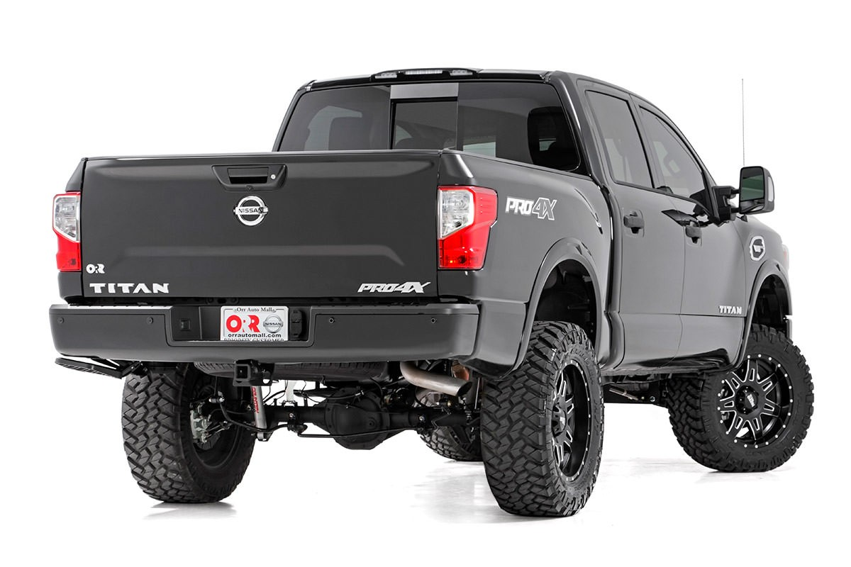 rough country 6in suspension lift kit 2017 titan 4wd non xd nissan race shop. Black Bedroom Furniture Sets. Home Design Ideas