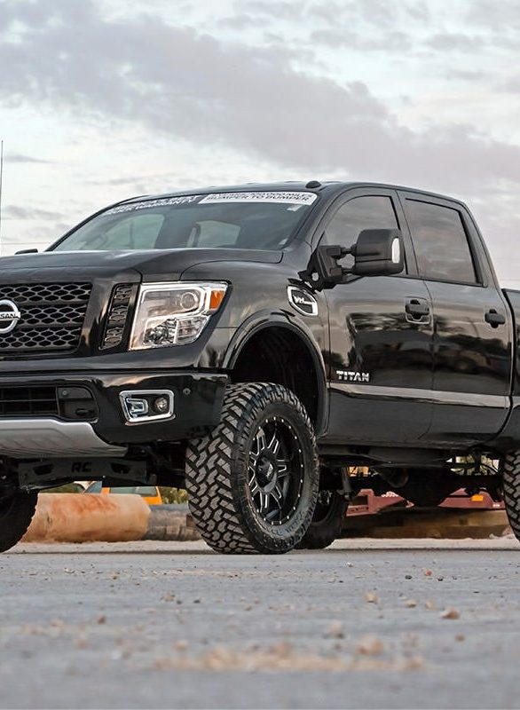 Lifted Nissan Titan >> Rough Country 6in Suspension Lift Kit (2017+Titan 4WD – Non-XD) – Nissan Race Shop