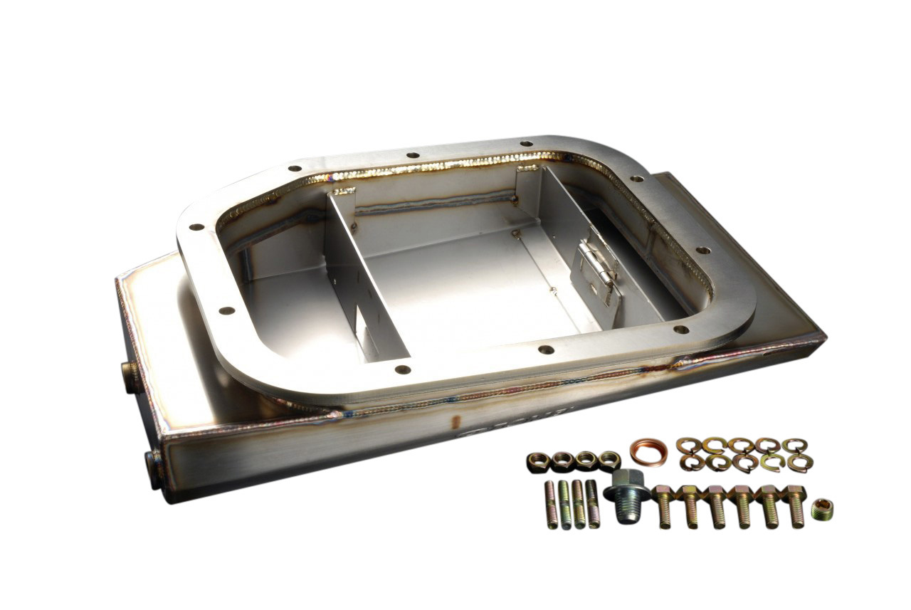 P2M Phase 2 Oversized Stainless Plate Oil Pan Silvia 240sx S13 S14 S15 SR20DET