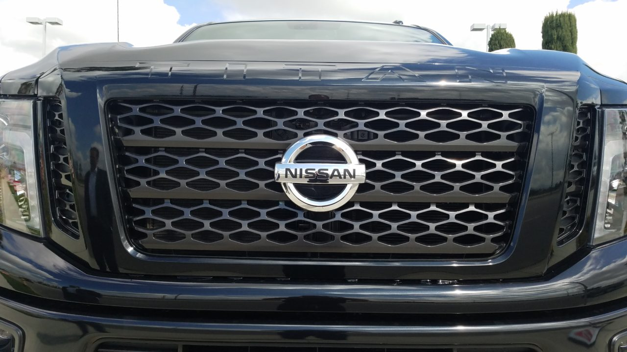 Nissan Titan XD Midnight Edition - Front Grille (Black)