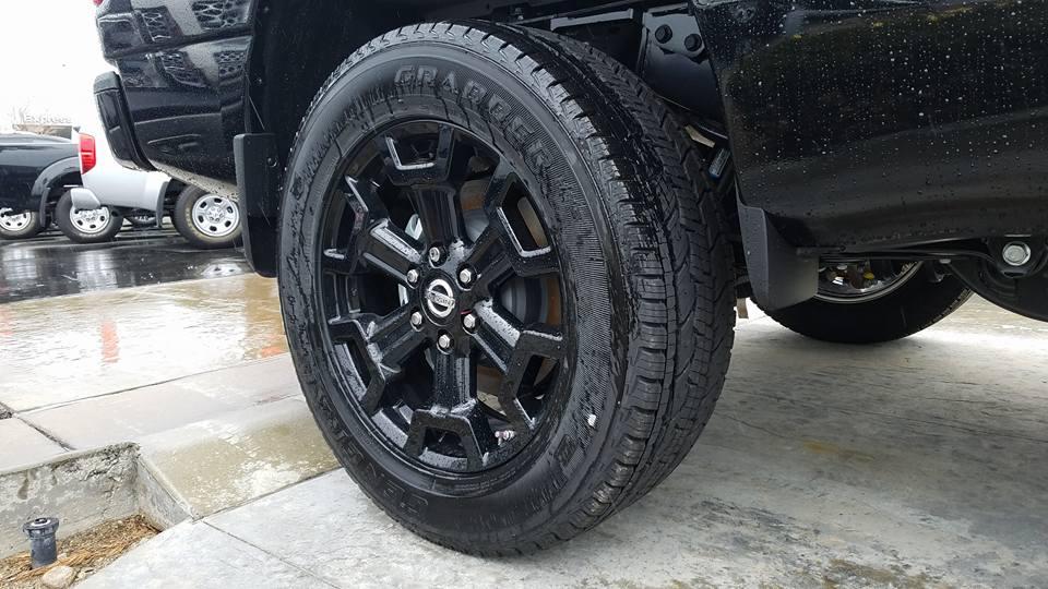 Wheel - Midnight Edition Titan XD
